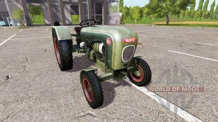 Hatz H340 для Farming Simulator 2017