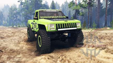 Jeep Comanche (MJ) для Spin Tires