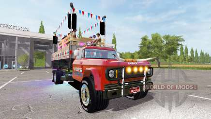Dodge D700 partywagen для Farming Simulator 2017
