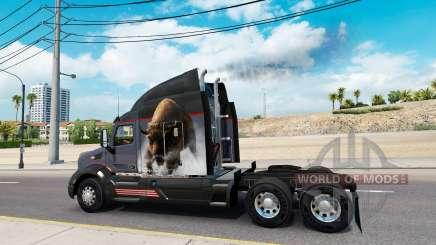 Выхлоп дыма v2.5 для American Truck Simulator
