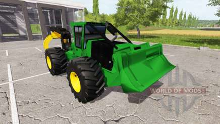 Трелевочный грейфер для Farming Simulator 2017
