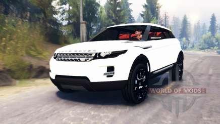 Range Rover Evoque LRX для Spin Tires