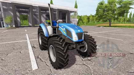 New Holland T4.75 v1.17 для Farming Simulator 2017