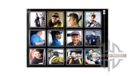 Аватарки водителей v1.1 для American Truck Simulator