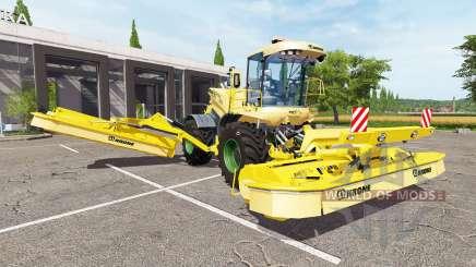 Krone BiG M GTX 750 v1.0.1 для Farming Simulator 2017