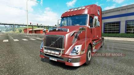 Volvo VNL 780 reworked для Euro Truck Simulator 2