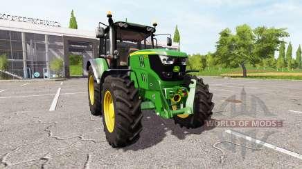 John Deere 6135M для Farming Simulator 2017