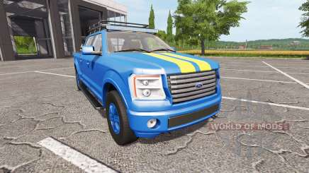 Lizard Pickup TT ford для Farming Simulator 2017
