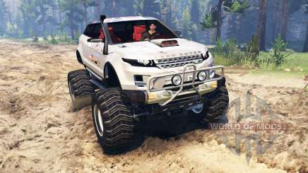 Range Rover Evoque LRX lifted для Spin Tires