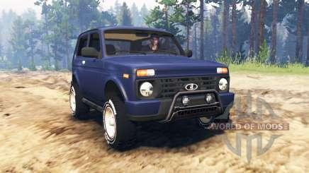 ВАЗ-21214 (Lada 4x4 Urban) для Spin Tires