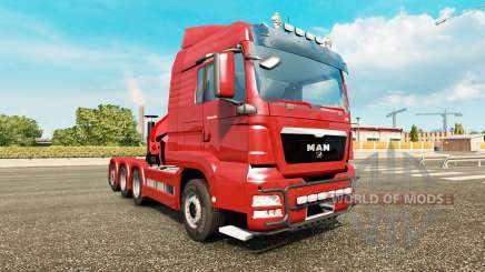 MAN TGS v2.0 для Euro Truck Simulator 2