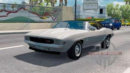 Классические автомобили для трафика v1.1.1 для American Truck Simulator
