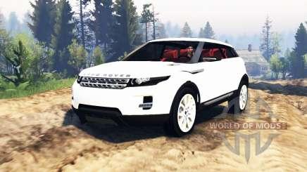 Range Rover Evoque LRX v2.0 для Spin Tires