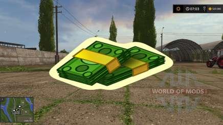 Cheat Money Mod для Farming Simulator 2017