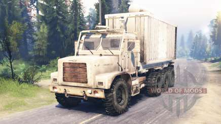 Oshkosh MTVR 8x8 для Spin Tires