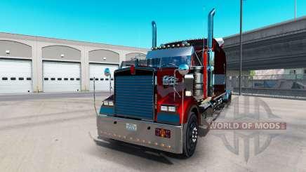 Kenworth W900B Long v1.4 для American Truck Simulator
