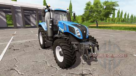 New Holland T8.380 v1.1 для Farming Simulator 2017