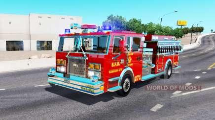 Пожарный автомобиль для American Truck Simulator