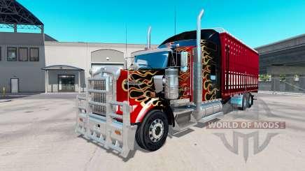 Kenworth W900 torton для American Truck Simulator
