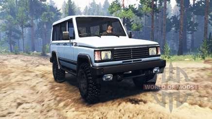 УАЗ-3170 Симбир v2.0 для Spin Tires