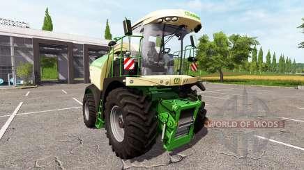 Krone BiG X 530 для Farming Simulator 2017