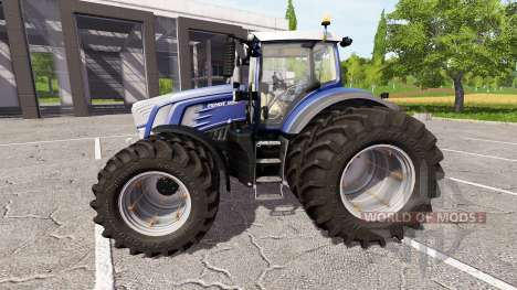 Fendt 936 Vario blue edition для Farming Simulator 2017