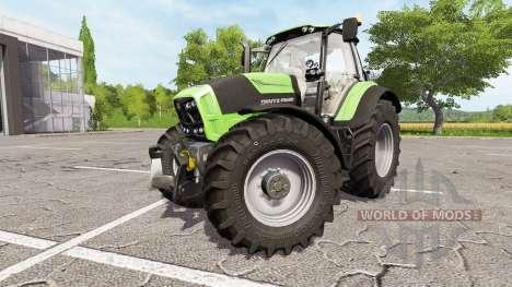 Deutz-Fahr Agrotron 7230 TTV v1.1 для Farming Simulator 2017