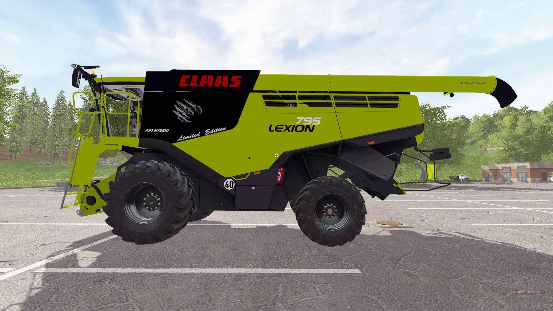 claas lexion 795 farming simulator 2017. Black Bedroom Furniture Sets. Home Design Ideas