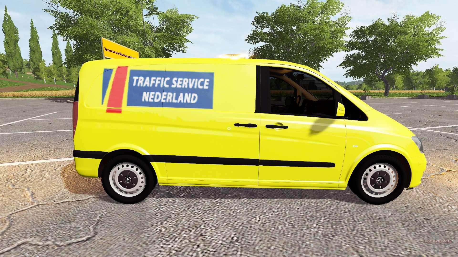 mercedes benz viano traffic service nederland farming simulator 2017. Black Bedroom Furniture Sets. Home Design Ideas