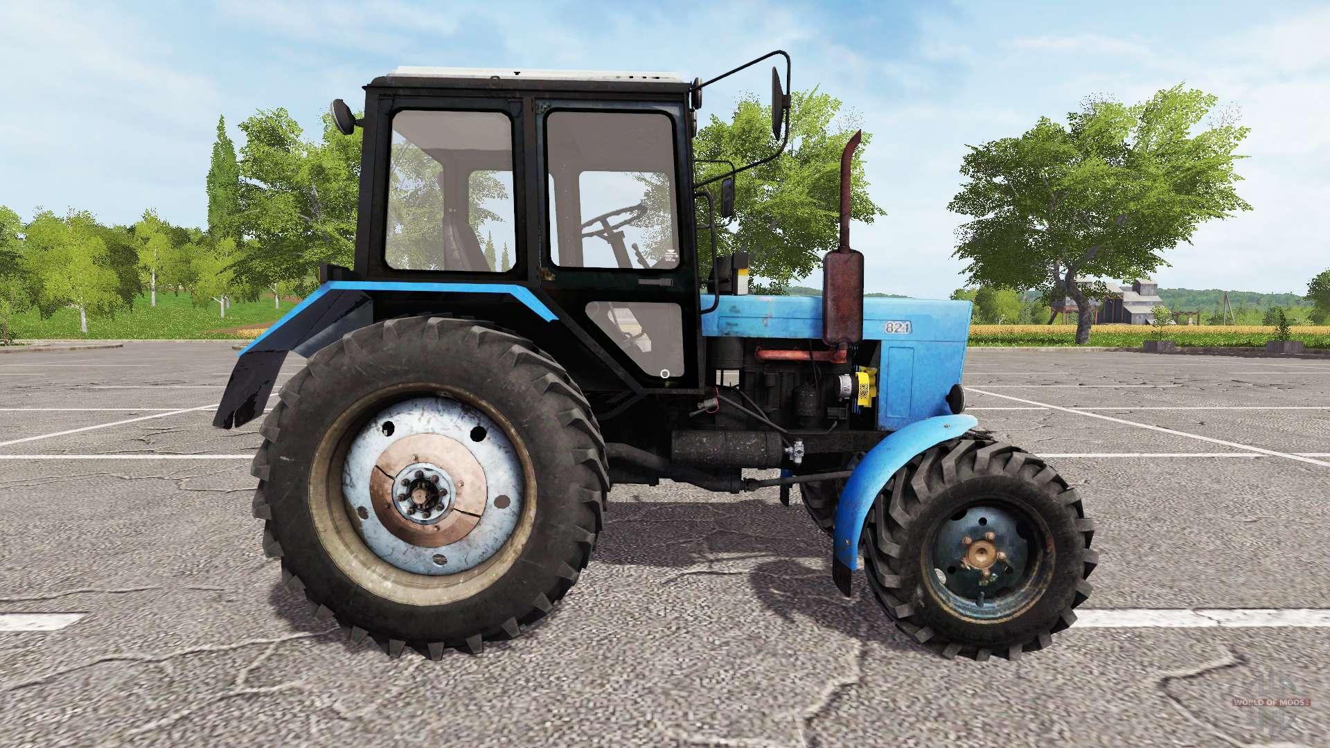 Трактор колесный Фронтальный челюстной БАМ-2021 на.