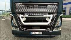 Кенгурятник Kelsa на тягач Volvo