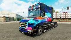 Скин Neon на тягач Scania T