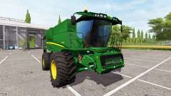 John Deere S690i washable для Farming Simulator 2017