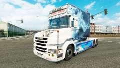 Скин Smoke на тягач Scania T