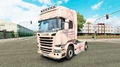 Скин Pink Panter на тягач Scania