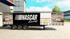 Скин NASCAR на шторный полуприцеп