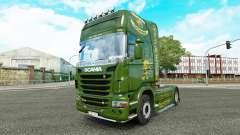 Скин Vabis на тягач Scania