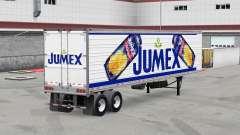 Скин Jumex на рефрижераторный полуприцеп