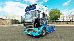 Скин Зенит на тягач Scania