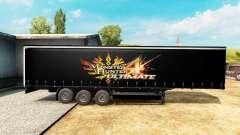 Скин Monster Hunter 4 Ultimate на полуприцеп