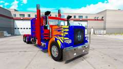 Скин Optimas Prime на тягач Peterbilt 389