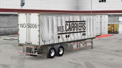 Скин M.S. Carriers на шторный полуприцеп