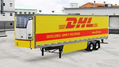 Скин DHL на рефрижераторный полуприцеп