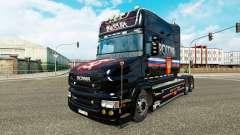 Скин Russia на тягач Scania T