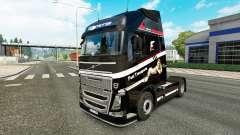 Скин Fast Transporte на тягач Volvo