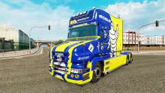 Скин Michelin на тягач Scania T