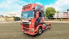 Скин Design N7 на тягач Scania