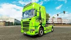 Скин Hip-Hop на тягач Scania