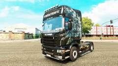 Скин Megatron на тягач Scania