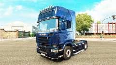 Скин Kosmos на тягач Scania